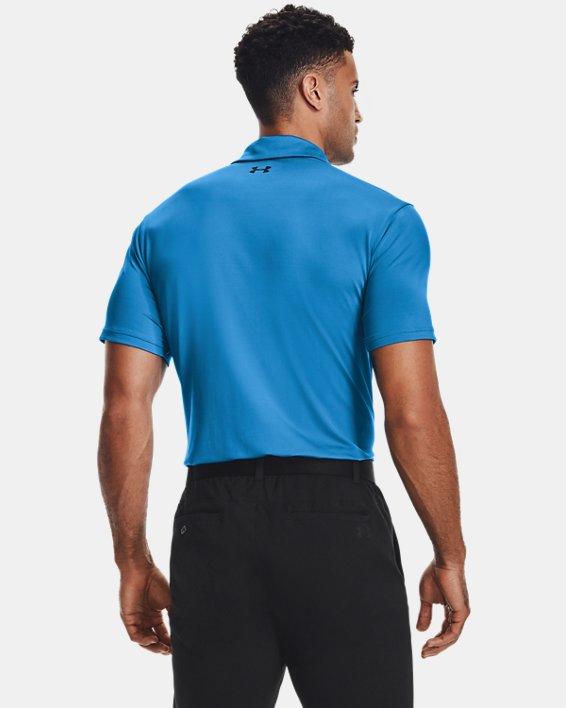 Men's UA Playoff Polo 2.0, Blue, pdpMainDesktop image number 2