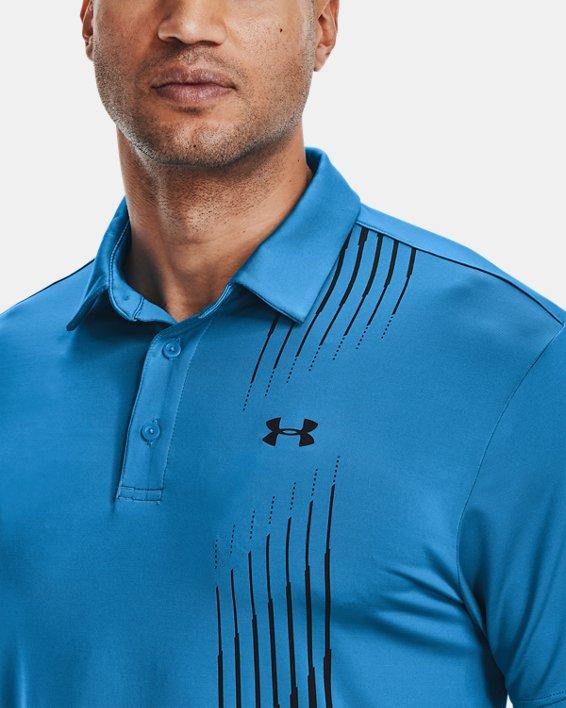 Men's UA Playoff Polo 2.0, Blue, pdpMainDesktop image number 6
