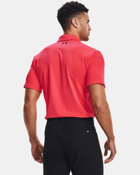 Men's UA Playoff Polo 2.0, Red, pdpMainDesktop image number 2