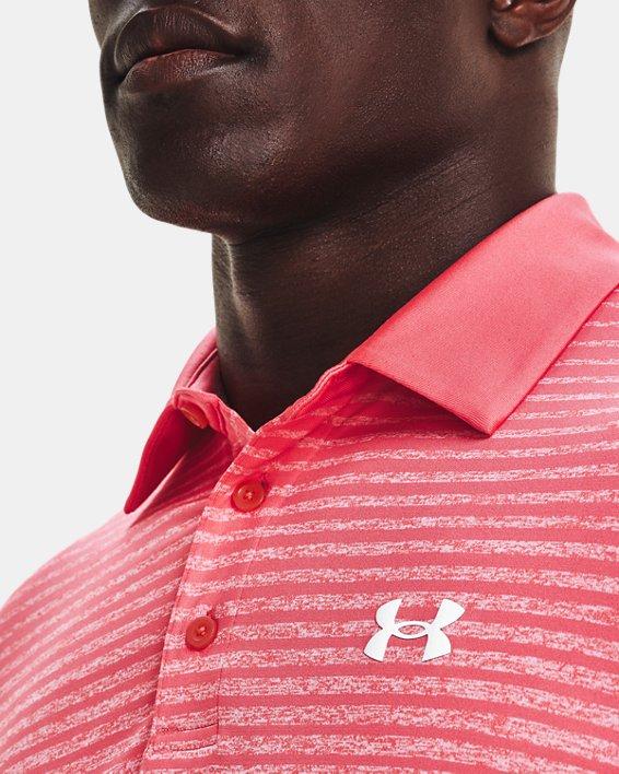 Men's UA Playoff Polo 2.0, Pink, pdpMainDesktop image number 3