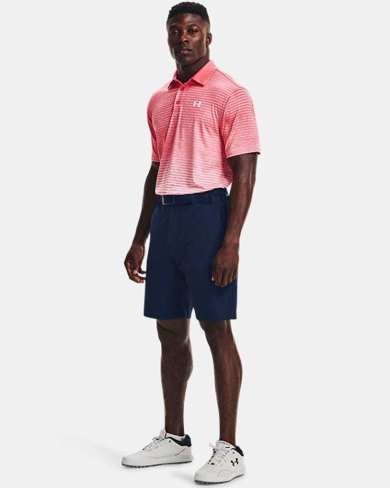 Men's UA Playoff Polo 2.0, Pink, pdpMainDesktop image number 2