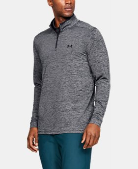 e78a641c7 Men's UA Playoff 2.0 ¼ Zip 1 Color Available $70. 1 Color Available. Black.  UA Playoff 2.0 ¼ Zip. Men's Golf Long Sleeve Shirt