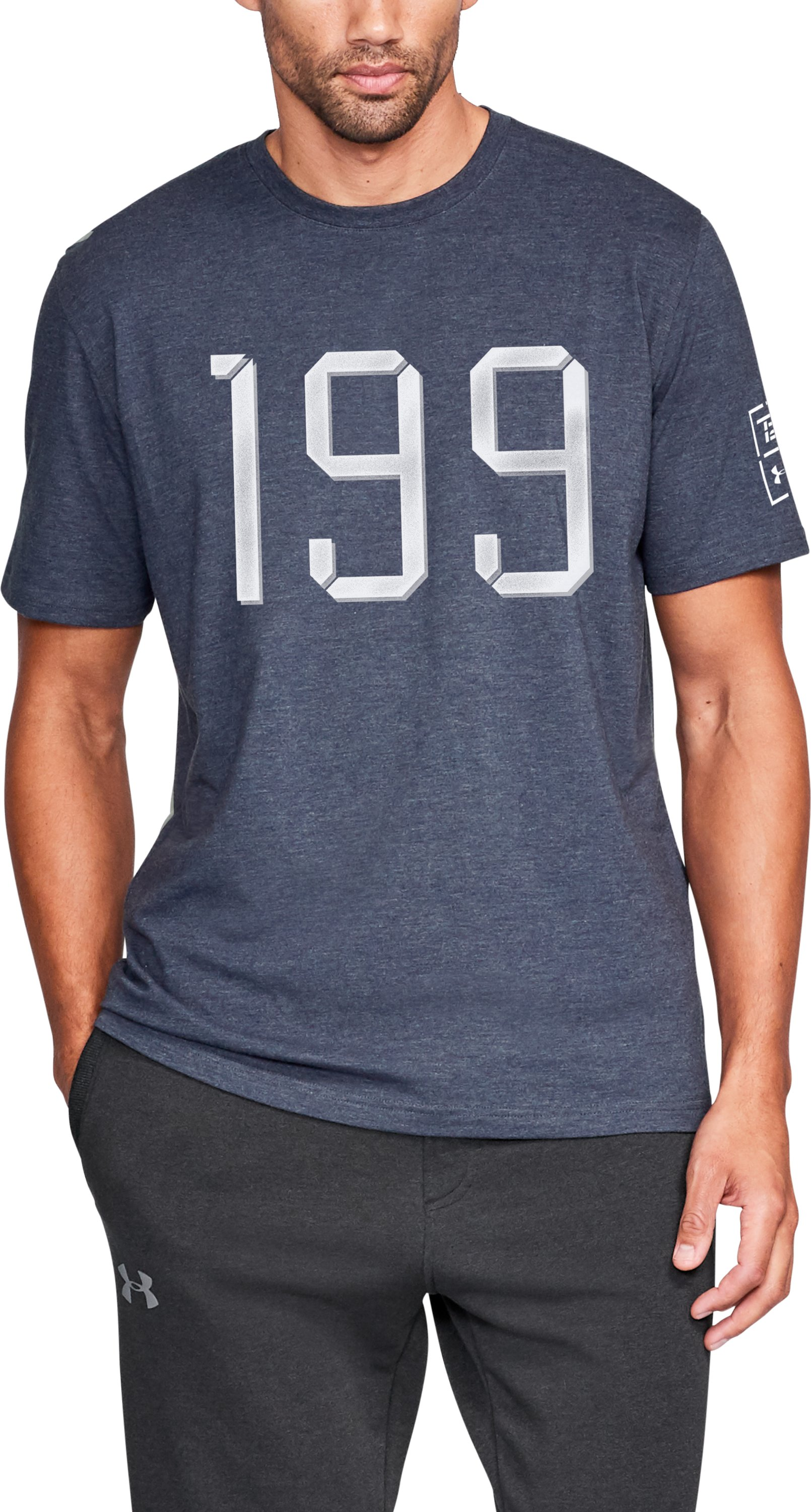 Men's TB12 UA Vintage 199 T-Shirt 1 Color $20.99