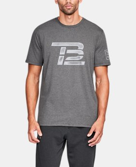 New Arrival Men's TB12 UA Vintage Logo T-Shirt  1 Color $34.99
