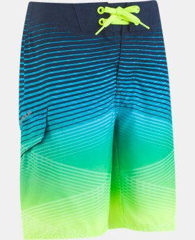 Boys' UA Fader Icon Boardshorts   $43