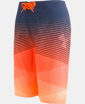 Boys' UA Fader Icon Boardshorts  1  Color Available $43