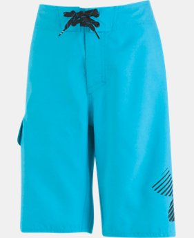 New Arrival Boys' UA H2O Reveal Boardshorts LIMITED TIME: FREE U.S. SHIPPING  $40