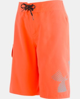 Boys' UA H2O Reveal Boardshorts  1  Color Available $40