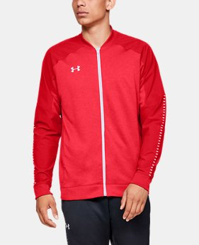 sale retailer eb2b2 336cb New Arrival Men s UA Knit Warm-Up Jacket 1 Color Available  70