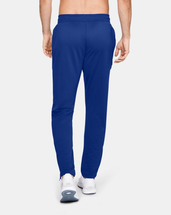 Men's UA Knit Warm-Up Pants, Blue, pdpMainDesktop image number 2