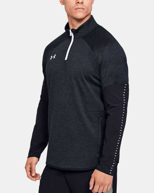 Men's UA Knit Warm-Up ¼ Zip