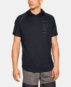 5d8f940e Men's UA MK-1 Terry Short Sleeve Hoodie 2 Colors Available $45