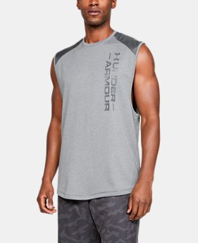 e4672fb84ab4e Men s UA MK-1 Terry Sleeveless 3 Colors Available  45