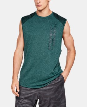de0aadc90c4 Men s UA MK-1 Terry Sleeveless 3 Colors Available  45