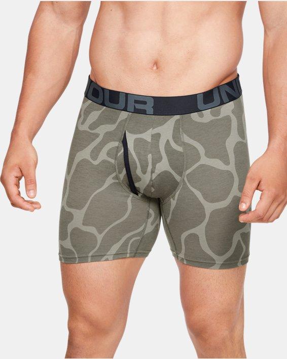 """Men's Charged Cotton® 6"""" Boxerjock® Novelty – 3-Pack, Black, pdpMainDesktop image number 0"""