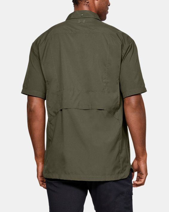 Men's UA Tac Hunter Short Sleeve, Green, pdpMainDesktop image number 2