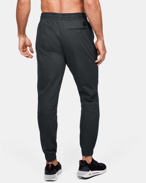 Men's UA Performance Chino Joggers, Gray, pdpMainDesktop image number 2
