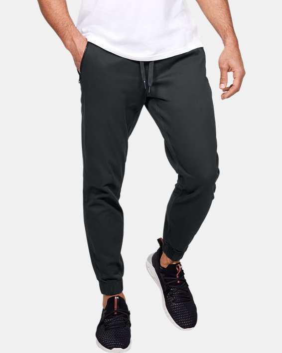 Men's UA Performance Chino Joggers, Gray, pdpMainDesktop image number 0