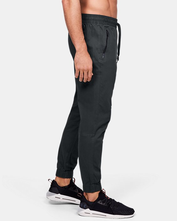 Men's UA Performance Chino Joggers, Gray, pdpMainDesktop image number 3