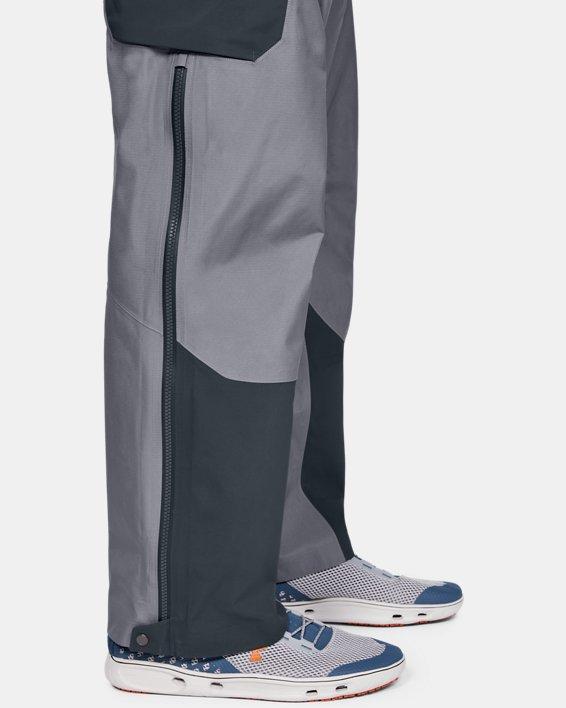 Men's UA GORE-TEX®  Shoreman Bib, Gray, pdpMainDesktop image number 6