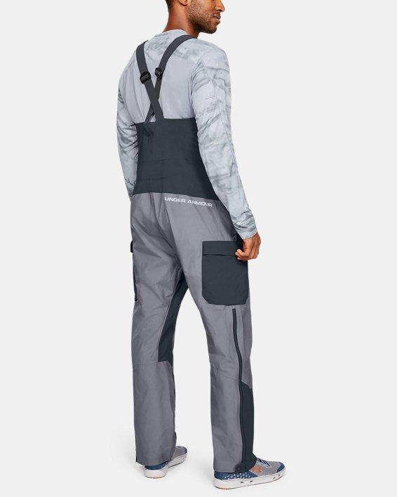 Men's UA GORE-TEX®  Shoreman Bib, Gray, pdpMainDesktop image number 2