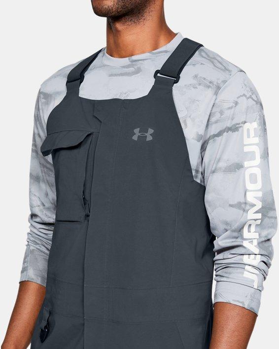 Men's UA GORE-TEX®  Shoreman Bib, Gray, pdpMainDesktop image number 7