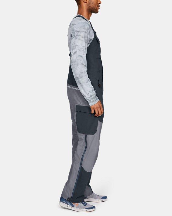 Men's UA GORE-TEX®  Shoreman Bib, Gray, pdpMainDesktop image number 3