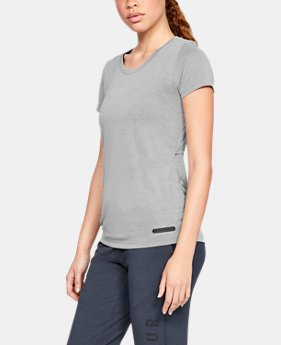 New Arrival Women's UA Unstoppable Modal Lux T-Shirt  1  Color Available $33