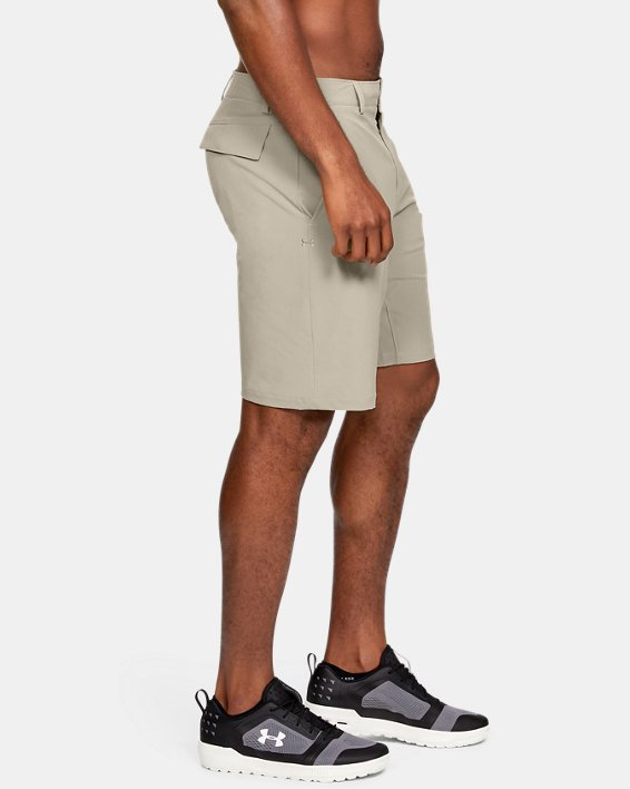 Men's UA Mantra Shorts, Brown, pdpMainDesktop image number 3