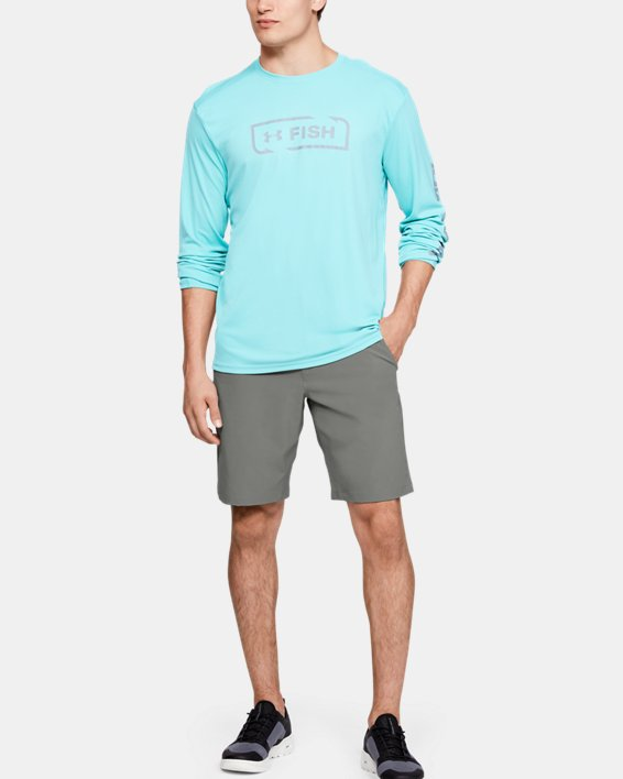 Men's UA Mantra Shorts, Green, pdpMainDesktop image number 1