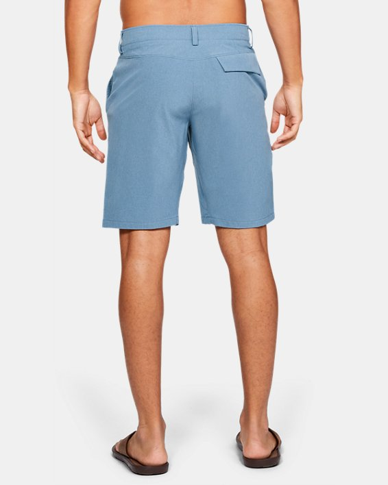 Men's UA Mantra Shorts, Blue, pdpMainDesktop image number 2