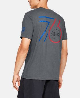 1c95d7bb New to Outlet Men's UA Freedom 76 Jersey T-Shirt 2 Colors Available $18.99