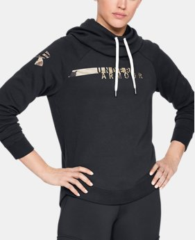 Women's UA Favorite Fleece Camo Logo  1  Color Available $50