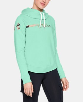 Women's UA Favorite Fleece Camo Logo  8  Colors Available $50