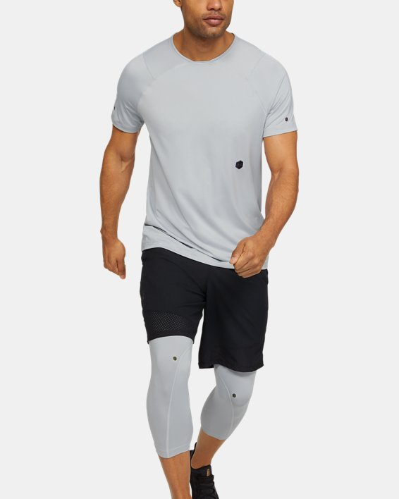 Men's UA RUSH™ Short Sleeve, Gray, pdpMainDesktop image number 1