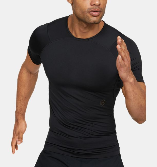 110a0ecd2b Men's UA RUSH™ Compression Short Sleeve