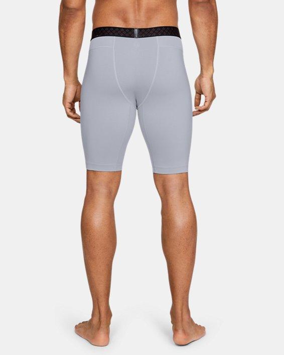 Men's UA RUSH™ Compression Shorts, Gray, pdpMainDesktop image number 2