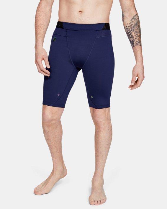 Men's UA RUSH™ Compression Shorts, Navy, pdpMainDesktop image number 0