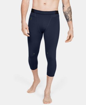 f96e907be94685 Men's UA RUSH™ ¾ Leggings 1 Color Available $55