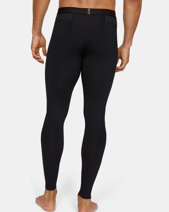 Men's UA RUSH™ Leggings, Black, pdpMainDesktop image number 2