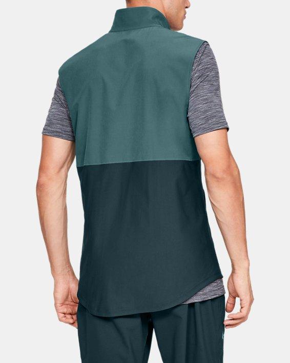 Men's UA Vanish Hybrid Vest, Blue, pdpMainDesktop image number 2