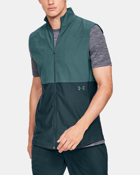 Men's UA Vanish Hybrid Vest, Blue, pdpMainDesktop image number 0