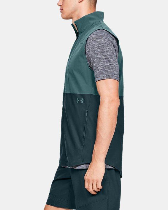 Men's UA Vanish Hybrid Vest, Blue, pdpMainDesktop image number 3
