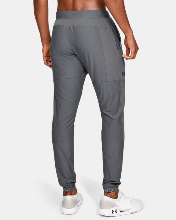 Men's UA Vanish Hybrid Pants, Gray, pdpMainDesktop image number 2