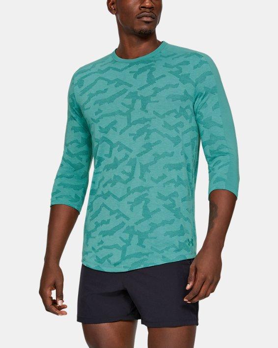 Men's UA Siro Elite Utility T-Shirt, Blue, pdpMainDesktop image number 0