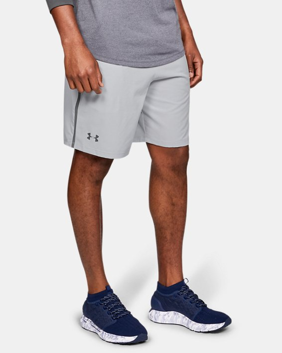 Men's UA Qualifier WG Perf Shorts, Gray, pdpMainDesktop image number 0