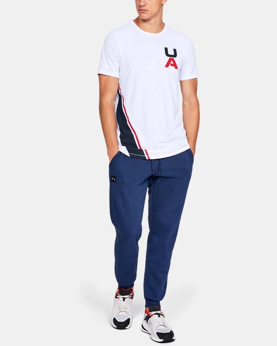 Men's UA Sportstyle Gym Issue Short Sleeve T-Shirt, White, pdpMainDesktop image number 1