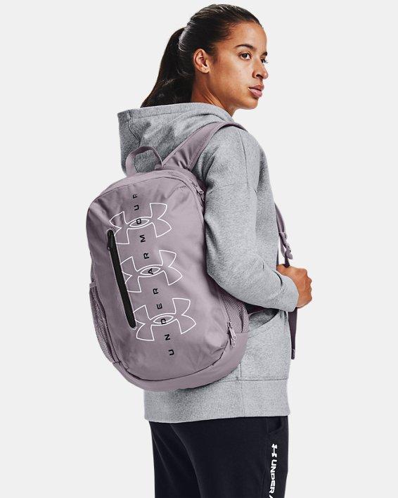 UA Roland Backpack, Purple, pdpMainDesktop image number 0