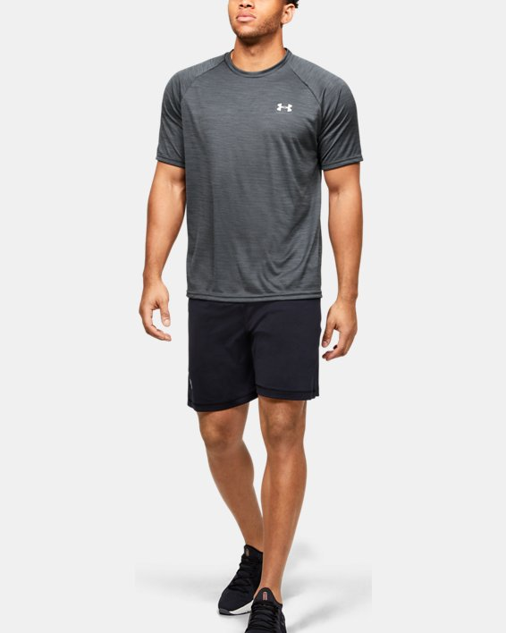Men's UA Velocity Short Sleeve, Black, pdpMainDesktop image number 1