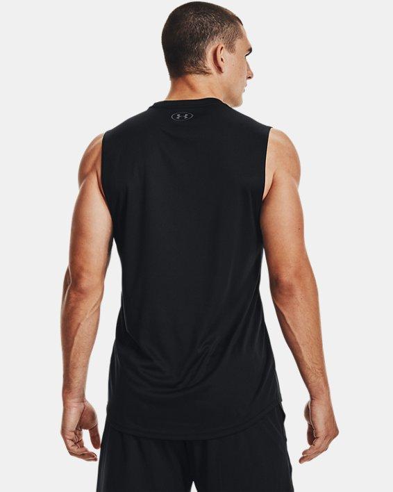 Men's UA Velocity Muscle Tank, Black, pdpMainDesktop image number 2